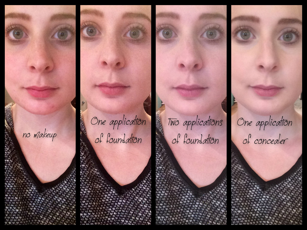 Review Demo Marc Jacobs Full Cover Concealer Mousse Foundation